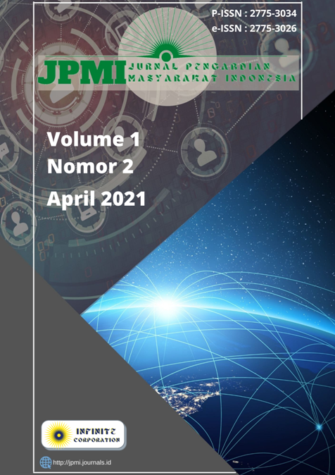 Lihat Vol 1 No 2 (2021): JPMI - April 2021